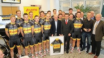 Team Kuota-Lotto Präsentation Koblenz 2015