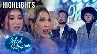Moira at Vice,  pinuri ang performance nina Renwick at Elle | Live Round | Idol Philippines 2019
