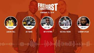First Things First audio podcast (2.13.19)Cris Carter, Nick Wright, Jenna Wolfe | FIRST THINGS FIRST
