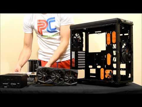 BE QUIET! PURE BASE 600 Window Orange (unboxing, Review & Build) [EN]