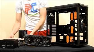 bE QUIET! PURE BASE 600 Window Orange (unboxing, review & build) EN