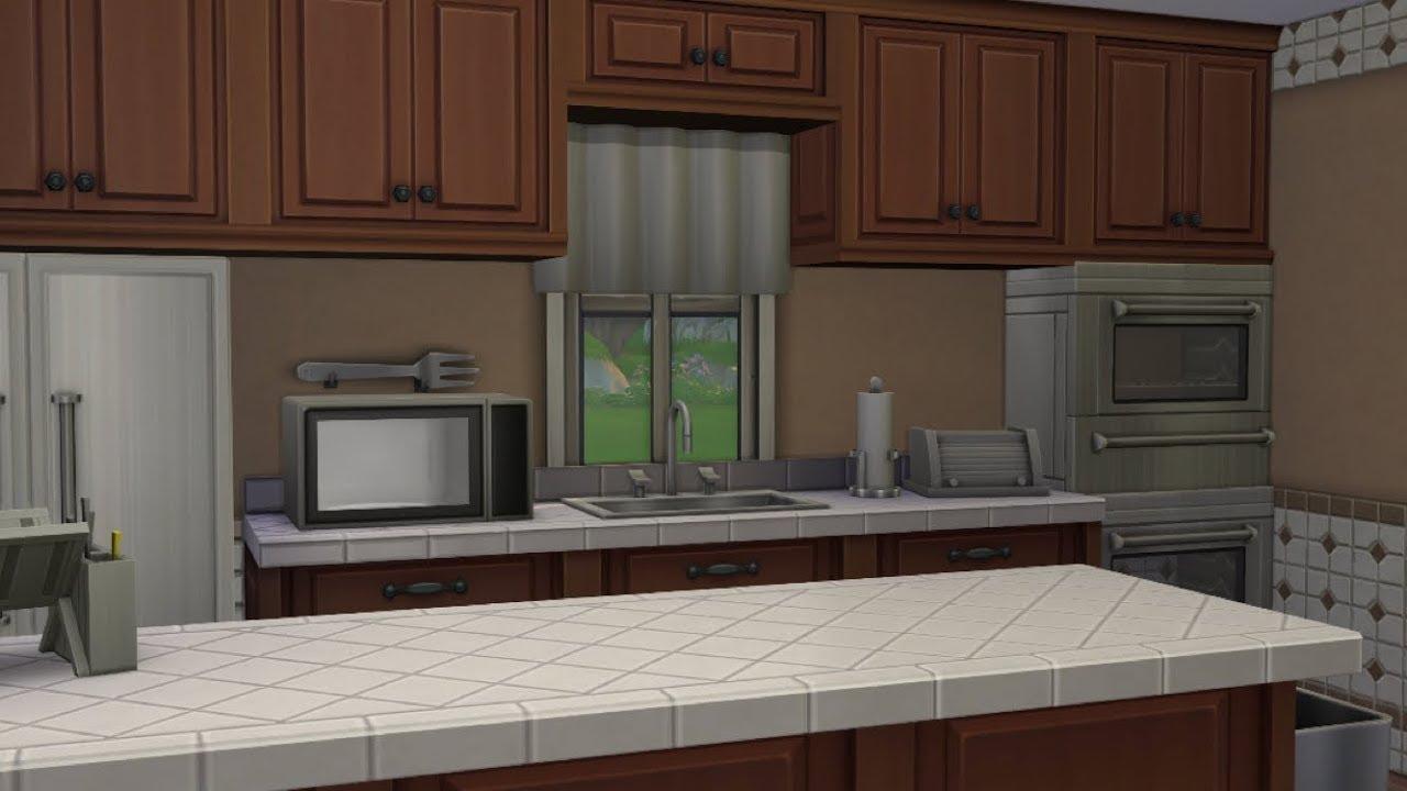 My Dream Kitchen Fashionandstylepolice: MY DREAM KITCHEN // The Sims 4: Speed Build + ASMR