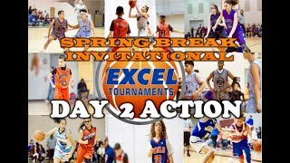 EXCEL SPRING BREAK INVITATIONAL 2019 - Day Two Action