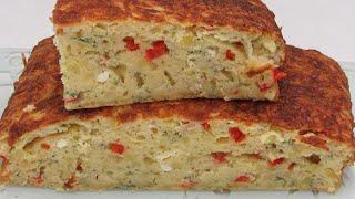 Вкуснее чем Жареная Картошка Готовь хоть каждый день вместо хлеба или к чаю КАРТОФЕЛЬНЫЙ ПИРОГ