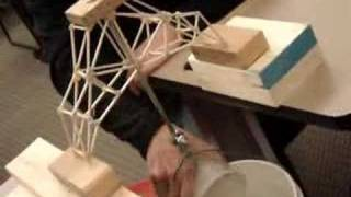 Balsa Wood Bridge Destruction