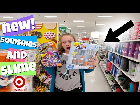 BRAND NEW SQUISHIES, SLIME & SLIME KITS AT TARGET!