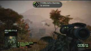 Battlefield Bad Company 2 - Onslaught Gameplay + How to get Veteran Achievements