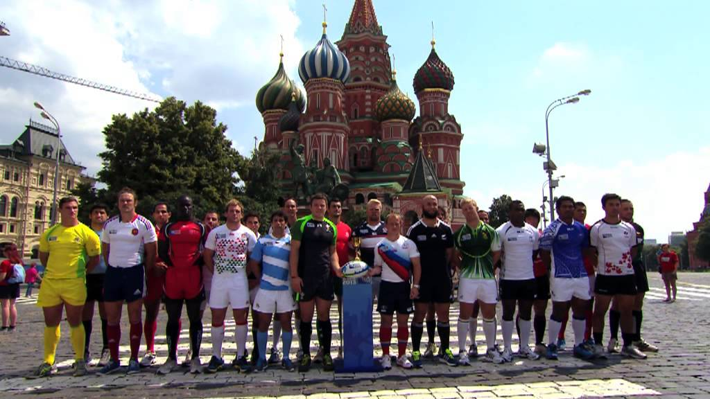 Red Square Hosts 40 Teams For Launch Of Rugby World Cup Sevens