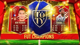 RECOMPENSES 138EME MONDIAL FUTCHAMPIONS & GROS PACK OPENING TOTY ATTAQUANT !!!
