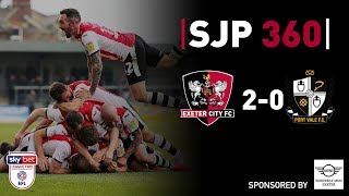 SJP 360 with Westerly Mini Exeter: Port Vale | Exeter City Football Club