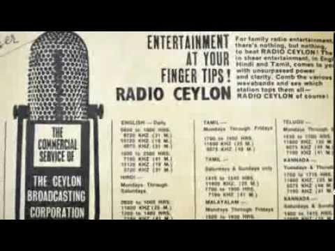 Can You Name... Signature Tunes Of Radio Ceylon..