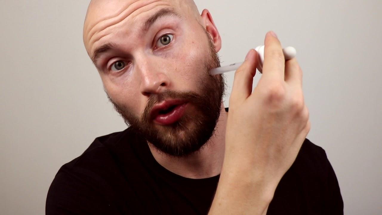 Minoxidil beard journey 2018 - Thin beard update 1 and How to Apply  Minoxidil