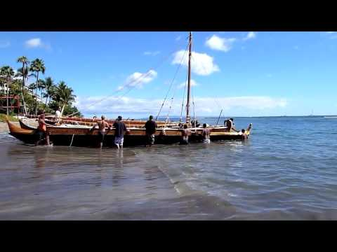 Outrigger Launch
