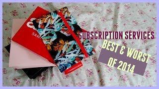 SUBSCRIPTION SERVICES ♡ The Best & Worst of 7 Boxes Thumbnail