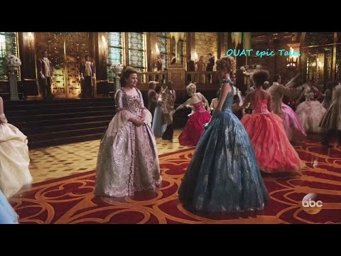 Once Upon A Time 6x03 Snow & Cinderella at the Royal Ball