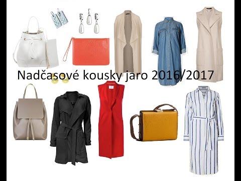 Nadčasové kousky 2016/17 - o materiálech, ukázky na postavě, pokecáníčko