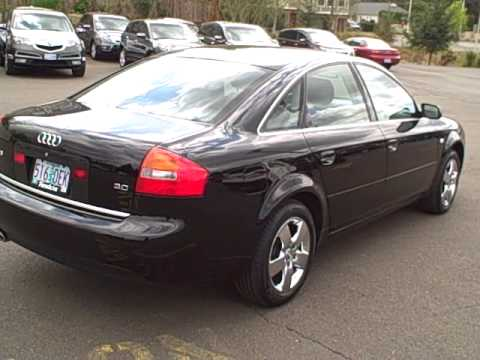 2003 Audi A6 3 0l Ron Tonkin Pre Owned Youtube