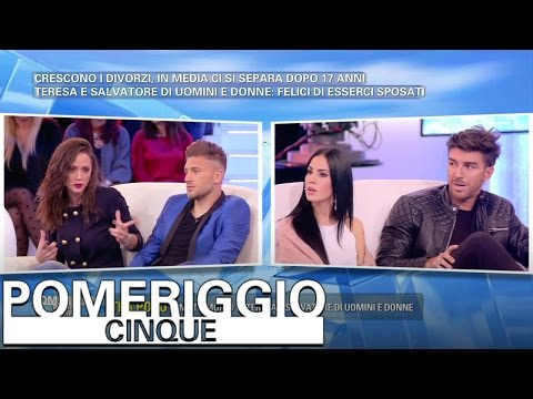 Pomeriggio 5 - Salvatore e Teresa contro Andrea e Giulia