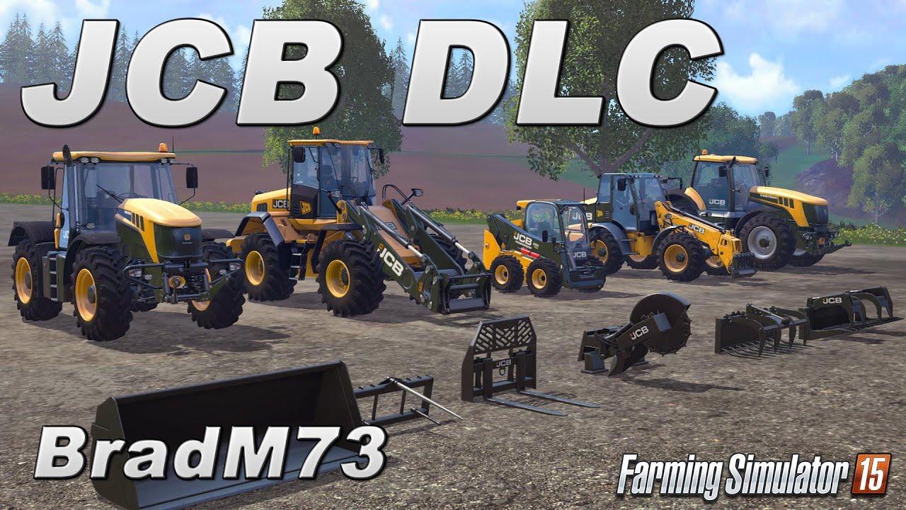 Farming Simulator 15 Jcb Add On Dlc Youtube