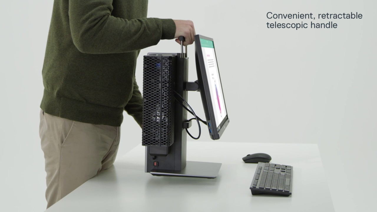 Dell Small Form Factor All In One Stand Oss17 Youtube