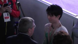 Yuzuru  Hanyu ♡ World  2017 ♡ After  the  Victory  ceremony ♡ 羽生結弦 羽生結弦 検索動画 27