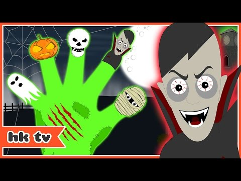 Scary Finger Family Songs & Nursery Rhymes | HooplaKidz TV Kids Songs Collection