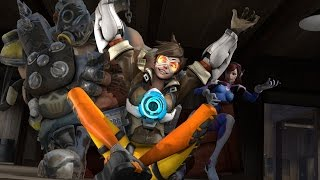 Overwatch Animated - Best Tracer Impersonation Ever