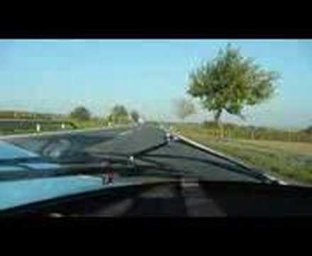 PORSCHE 917 LMK driven to gas station