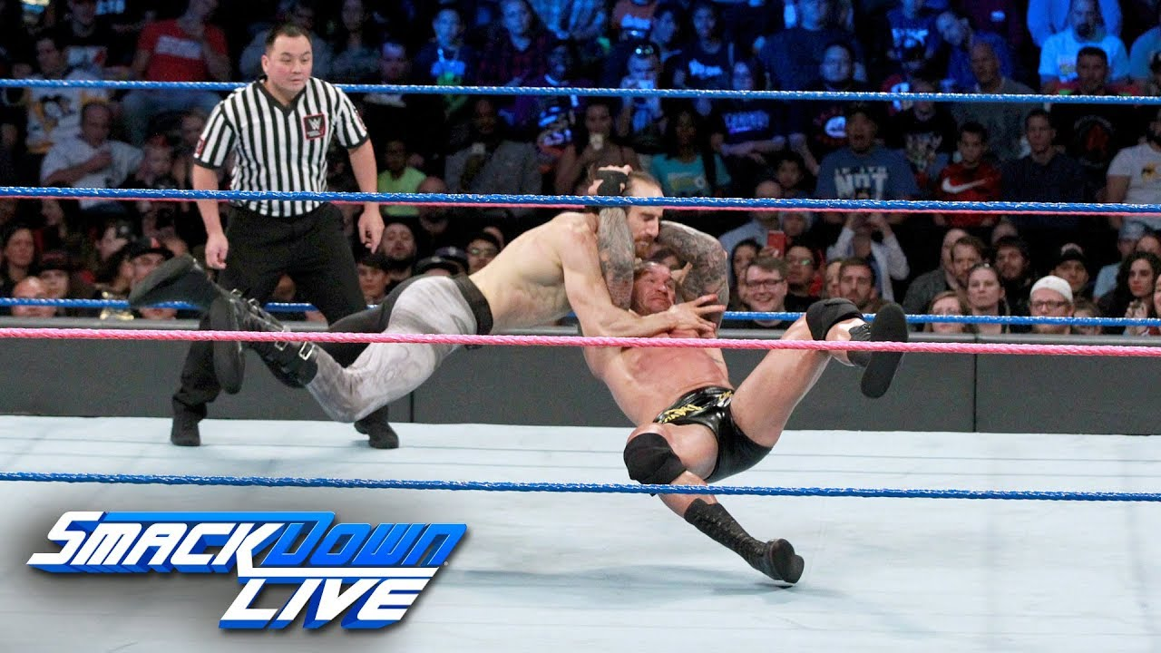 Randy Orton vs. Aiden English: SmackDown LIVE, Oct. 3, 2017