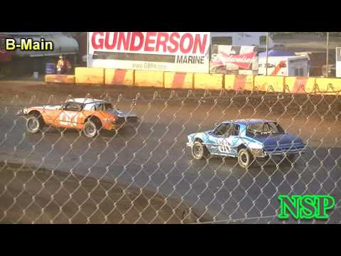 May 28, 2017 Street Stocks Trophy Dash & B-Main Sunset Speedway