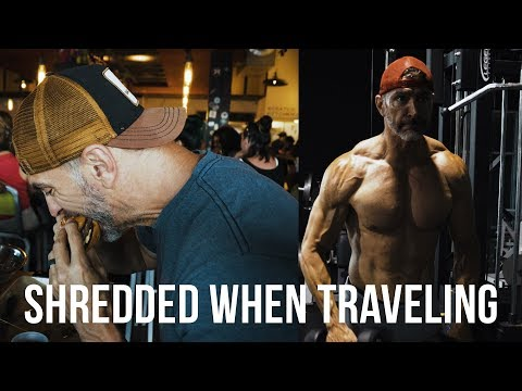 HOW TO STAY SHREDDED