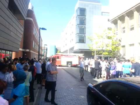 Dental fire alarm