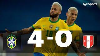 Brasil 4-0 Perú | Copa América 2021