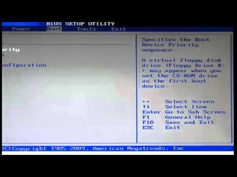 How To Boot From Cd In Windows 7