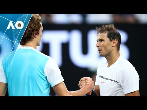 Zverev v Nadal match highlights (3R) | Australian Open 2017