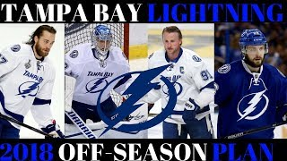 What's next for the Tampa Bay Lightning? 2018 Off Season Plan
