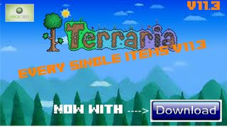 Terraria All Item | All 1.2 Items, Big Castle, Decorative Design