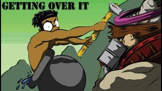 GETTING OVER IT EGO BLACK ANIMATED GAMEPLAY