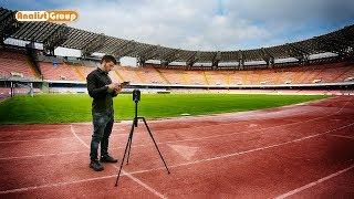 Rilievo 3D Stadio San Paolo con Laser scanner Leica BLK360