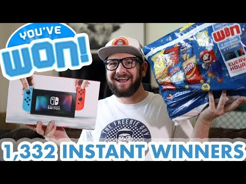 🎉 I WON A NINTENDO SWITCH - And YOU can too! - New Instant