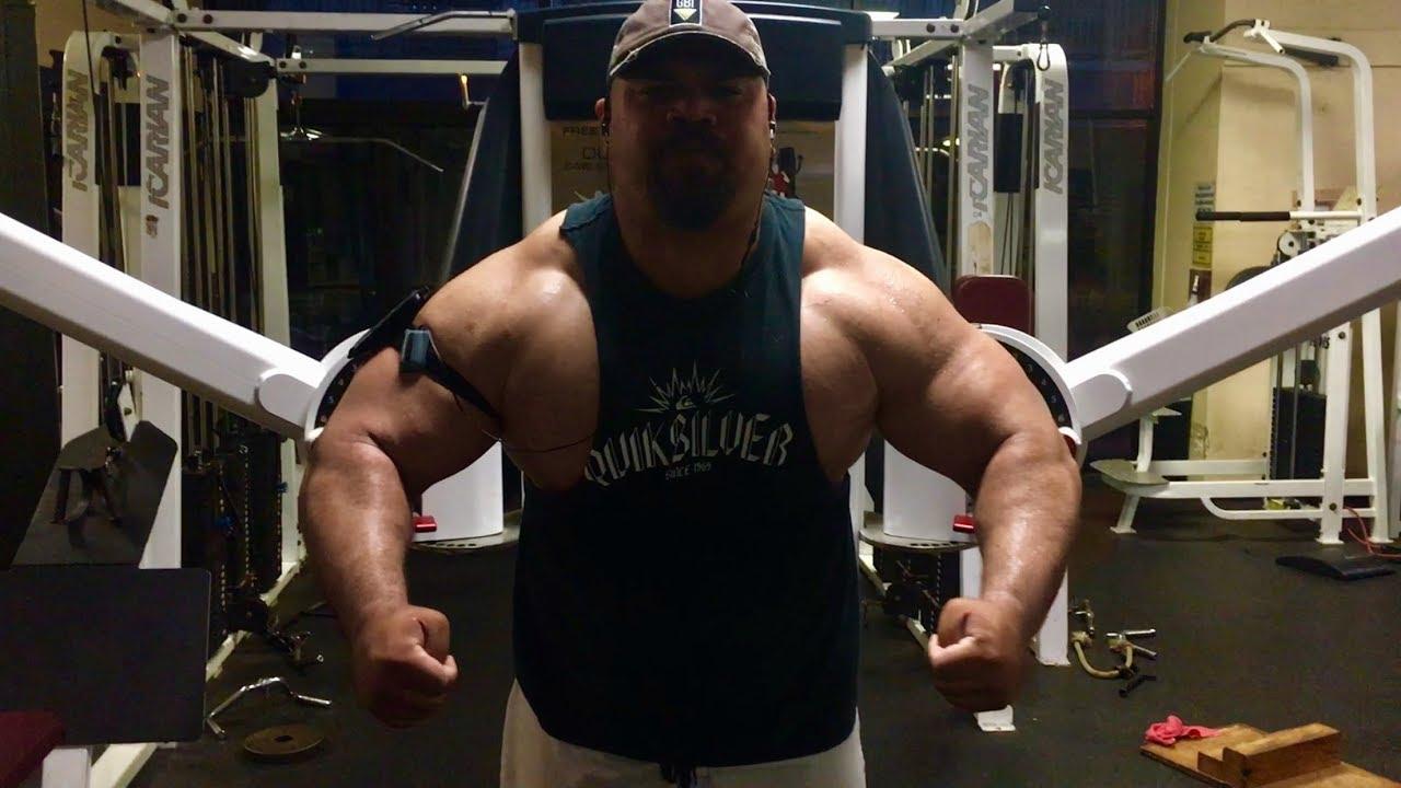 Muscle Building Technique: Arnold Bench Press 73
