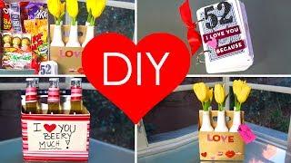 DIY- 4 VALENTINE'S GIFT IDEAS (PERFECT KIT) ♥ Thumbnail