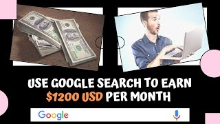 Earning money online 2020 | $1200 usd only using google search #earning (re-upload)