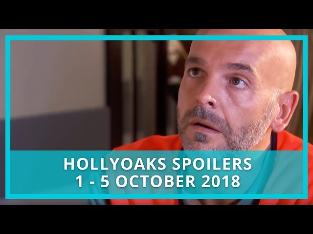 Hollyoaks spoilers: 1 - 5 October 2018