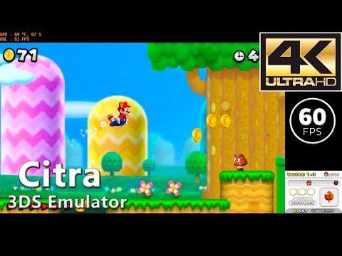 Citra (Sickc 27/11) | New Super Mario Bros  2 (4K / 60 FPS