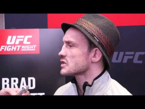 Brad Pickett UFC London 2016 Interview: Fighting for his family