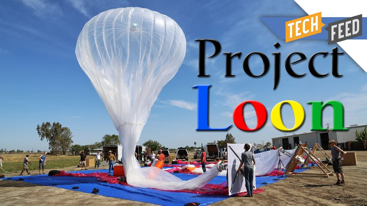 Project Loon Google S Wi Fi Balloons For The World Youtube