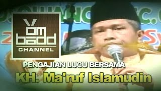 Video Pengajian Lucu~Bersama KH. Ma'ruf Islamudin download MP3, 3GP, MP4, WEBM, AVI, FLV Juli 2018