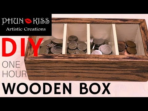 DIY One Hour Wooden Box