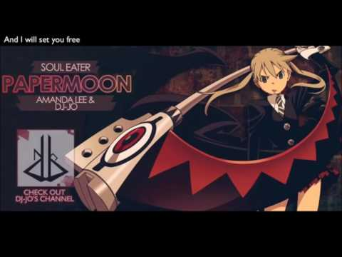 Black Paper moon-English(karaoke)